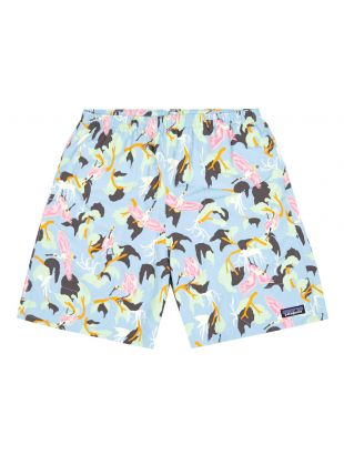 patagonia baggies shorts long sky blue