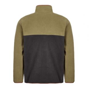 Pullover Synch Snap - Sage Khaki