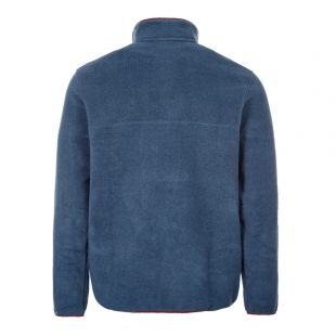 Pullover Synch Snap - Blue