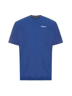 patagonia t-shirt horizons responsible|38501 SPRB blue