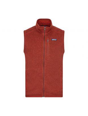 patagonia better sweater fleece vest barn red