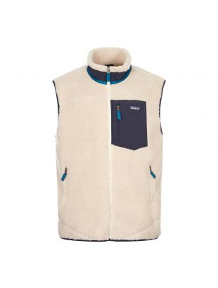 patagonia classic retro x vest natural