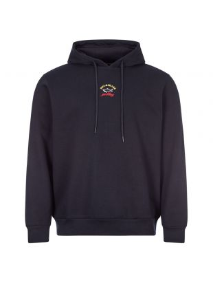 Paul and Shark Hooded Sweat   A20P1823 013 Navy