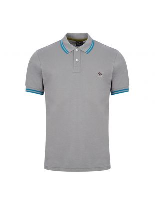 Paul Smith Twin Tipped Polo Grey M2R 183KZ D20068 73