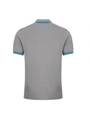 Polo Shirt Twin Tipped - Grey
