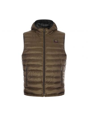 Paul and Shark Padded Gilet | COP2007 044 Olive