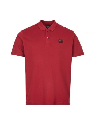 Paul and Shark Polo Shirt | C0P1000 142 Burgundy | Aphrodite
