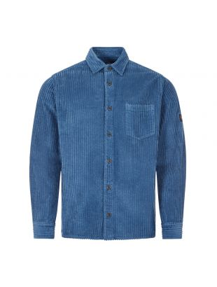 Paul and Shark Corduroy Shirt | I20P3365OS 366 Blue | Aphrodite