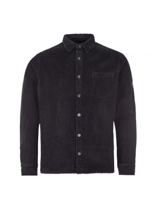 Paul and Shark Corduroy Shirt | 120P3365OS 024 Black | Aphrodite