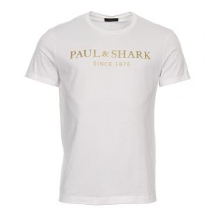 Paul & Shark T-Shirt | E18P1143SF 010 White