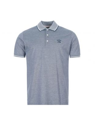 Paul And Shark Polo Shirt | E20P1209|282 Blue And White | Aphrodite1994