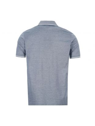 Polo Shirt - Blue / White
