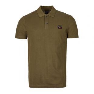 Paul and Shark Polo COP1000 132 Olive