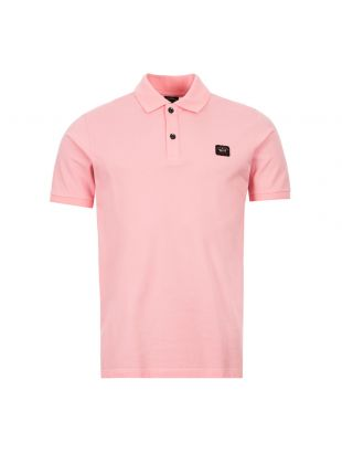 Paul And Shark Polo Shirt | COP1070113 Pink | Aphrodite Clothing