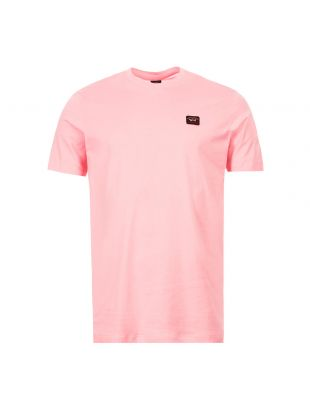 Paul And Shark T-Shirt | COP1002|113 Pink | Aphrodite Clothing