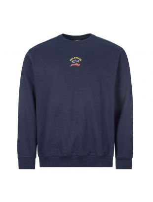 paul and shark sweatshirt | PDSP20P1530 13 navy