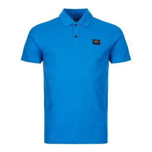 paul and shark polo COP1000 522 blue