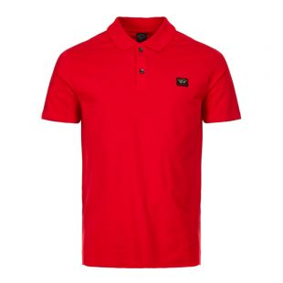 Paul and Shark Polo COP1000 577 In Red