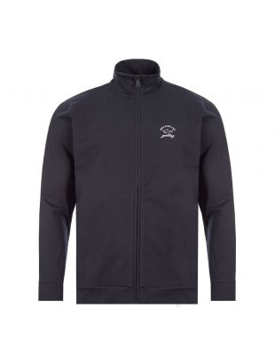 Zipped Tracktop - Navy