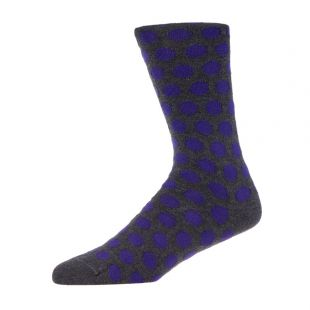 2 Pack Socks – Grey / Purple