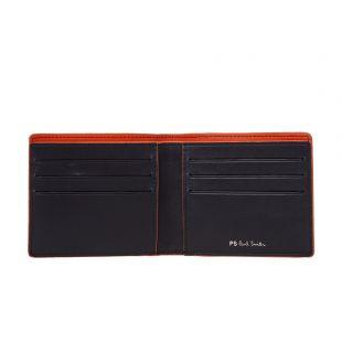Bi-fold Wallet Zebra - Black