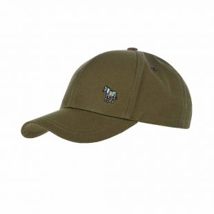 Paul Smith Cap Baseball | M2A 987C BZEBRA 63 Khaki