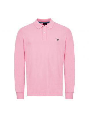 paul smith long sleeve polo shirt | M2R 115LZ D20067 21 pink