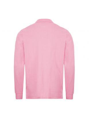 Long Sleeve Polo Shirt - Pink