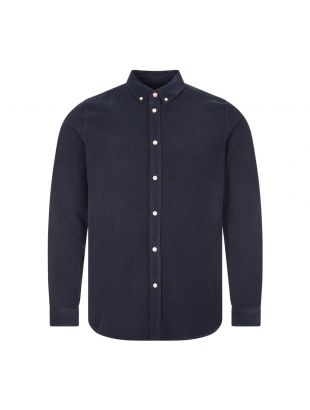 Paul Smith Corduroy Shirt | M2R 599R E21043 49 Navy