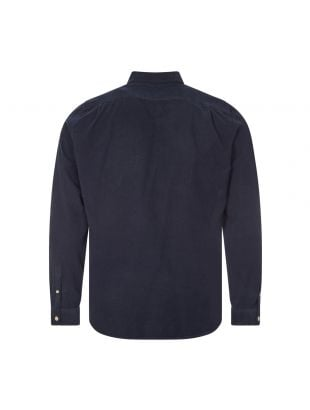 Corduroy Shirt - Navy