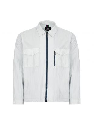 paul smith overshirt M2R 963T A20845 40 light blue