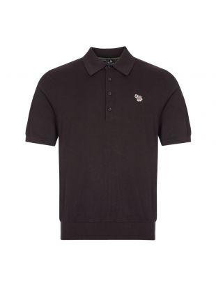 Paul Smith Polo Shirt , M2R 130U E21002 79 Black , Aphrodite 1994