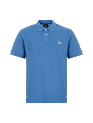 Zebra Polo Shirt - Blue