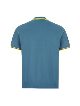 Zebra Polo Shirt - Teal