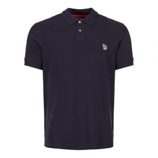 paul smith polo shirt M2R 183K AZEBRA 49 navy
