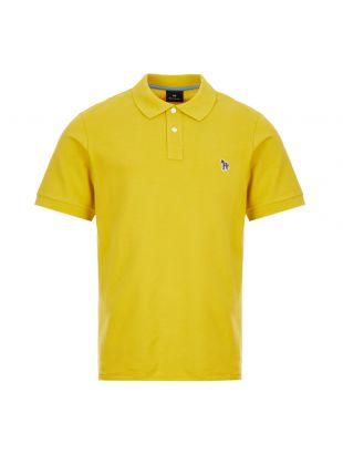 Paul Smith Zebra Polo Shirt | M2R 183KZ E20067 12 Mustard