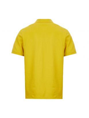 Zebra Polo Shirt - Mustard