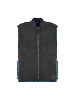 Reversible Gilet - Cream / Black