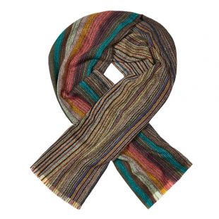 Paul Smith Scarf | M1A 121F AS06 92 Multi Stripe