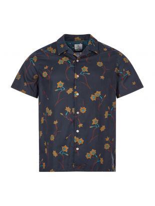 Paul Smith Short Sleeve Shirt | M2R 114R E20975 48 Inky Navy