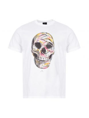 Paul Smith Skull T-Shirt | M2R 011R EP2146 White