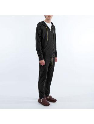 Sleepwear Zipped Hoodie - Black
