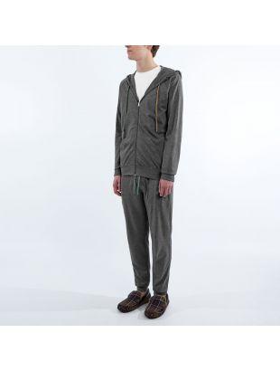 Sleepwear Zipped Hoodie - Grey