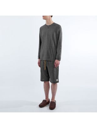 Sleepwear Long Sleeve T- Shirt - Slate Grey