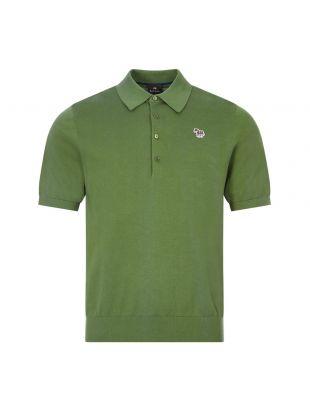 Paul Smith Zebra Polo Shirt |M2R 130U E21002 34 Green | Aphrodite