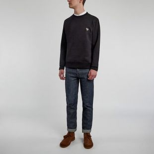 Zebra Sweatshirt - Black