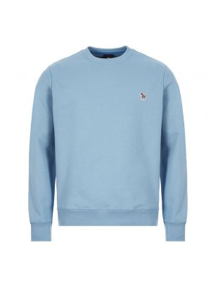 Paul Smith Zebra Sweatshirt | M2R 027RZ E20075 42A Light Blue