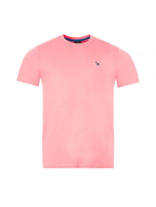 Paul Smith Zebra Logo T-Shirt M2R|011RZ|D20064|21 In Pink At Aphrodite Clothing