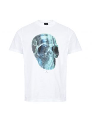 Paul Smith T-Shirt Skull | M2R 011R AP1773 01 White