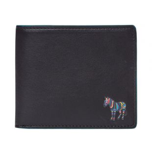Paul Smith Wallet Billfold | M2A 6087 AZEBRA 78 Black
